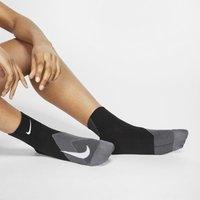 Nike Elite Lightweight Crew Running Socks - Black