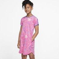 Платье с логотипом Swoosh для девочек Nike Sportswear