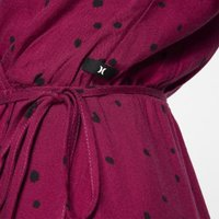 Платье Hurley Dot Party Wrap