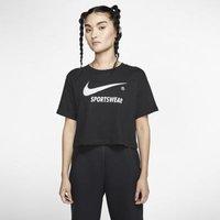 Женская укороченная футболка с коротким рукавом Nike