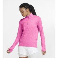 Женская беговая футболка с молнией на половину