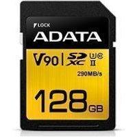 ADATA Premier One 128GB SDXC UHS-II U3 Class 10 SD Card