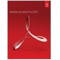 Adobe Acrobat Pro 2017 - Box pack - 1 user - Win - EU English
