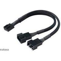 Akasa PWM Fan Splitter Cable 15cm