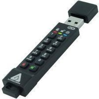 Apricorn Aegis Secure Key 3NX 128GB USB 3.1 Flash Memory Drive