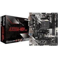 ASRock A320M-HDV R4.0 AMD A320 Chipset (Socket AM4) Micro-ATX Motherboard