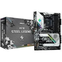 ASRock X570 Steel Legend AMD X570 Chipset (Socket AM4) ATX Motherboard
