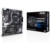 ASUS PRIME A520M-K AMD A520 Chipset (Socket AM4) Micro-ATX Motherboard