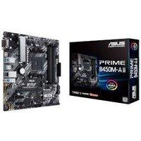 ASUS PRIME B450M-A II AMD B450 Chipset (Socket AM4) Motherboard