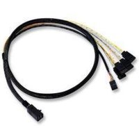 Avago Internal Cable 1 x SFF8643 (MiniSAS HD) to 4 x SATA - 1m