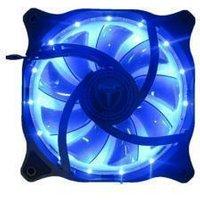 AvP Case Fan 12cm 15x Blue LED 3+4 Pin Connector Case Fan