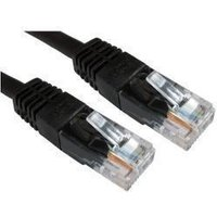 Cat6 Patch Cable, Black 0.25M