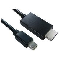 Mini DisplayPort (m) To HDMI (m) Cable 2m