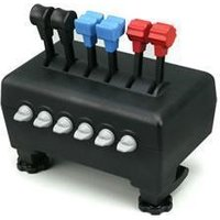 6x Throttle Quadrant for Flight Sims from CH Products