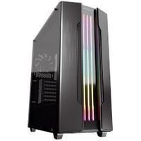 Cougar Gemini S Mid Tower Tempered Glass Window Iron Grey