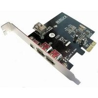 Dynamode PCIX3FW FireWire Adapter - PCI Express - Plug-in Card - 3 Total Firewire Port(s)