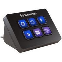 Elgato Stream Deck Mini Customizable LCD Content Creation Controller