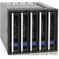 Icy Dock FatCage MB155SP-B 5 Bay Hot-Swap Backplane Cage