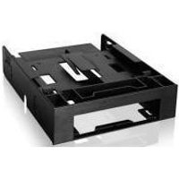 """FLEX-FIT Trio MB343SP 3.5"""" to 5.25"""" Front Bay Conversion Kit with Additional 2 x 2.5"""" HDD/SSD Bay"""
