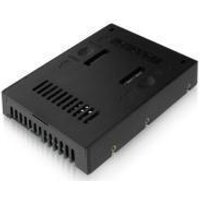 """Icy Dock MB882SP-1S-2B 2.5"""" to 3.5"""" SSD & SATA Hard Drive Converter"""