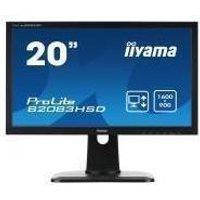 Iiyama B2083HSD-B1 20 Inch LED Monitor with Height Adjustable Stand