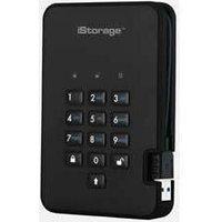 iStorage diskAshur2 256-Bit Encrypted 128GB External Solid State Drive (SSD)