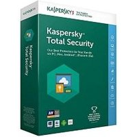 Kaspersky Total Security 2019 - 1 Year, 10 Devices, 3 User Accounts