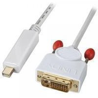 Lindy 1m Mini-DisplayPort to DVI-D Adapter Cable