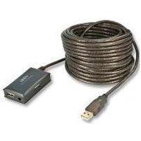 Lidny USB2 Extension 4 Port Hub - 10m