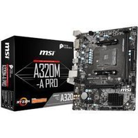 MSI A320M-A PRO AMD A320 Chipset (Socket AM4) Micro-ATX Motherboard