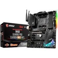 MSI B450 GAMING PRO CARBON MAX WIFI AMD B450 Chipset (Socket AM4) ATX Motherboard