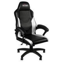 Nitro Concepts C100 Gaming Chair - Black/White