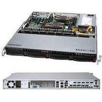 "1U Storage Server Dual Xeon, Up to 4x 3.5"" Drives - Intel Xeon B3104 Processor - 8GB DDR4 2666MHz ECC RDIMM Module - MegaRAID 9361-4I 4port"