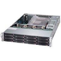 "2U Storage Server Dual Xeon, Up to 12 3.5"" Drives 2x 2.5"" - Intel Xeon B3104 Processor - 8GB DDR4 2666MHz ECC Registered DIMM Module  - MegaRAID 9361-4I 4port"