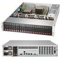 """2U Storage Server Dual Xeon up to 24x 2.5"""" HDD + 2x 2.5"""" Rear - Intel Xeon B3204 Processor - 8GB DDR4 2666MHz ECC RDIMM Module - MegaRAID 9361-4I 4port"""