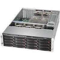 """3U Storage Server Dual Xeon up to 16x 3.5"""" HDD + 2x 2.5"""" Rear - Intel Xeon B3204 Processor - 8GB DDR4 2666MHz ECC RDIMM Module  - MegaRAID 9361-4I 4port"""