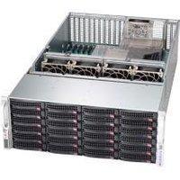 """4U Storage Server Dual Xeon up to 24 3.5"""" HDD + 2x 2.5"""" Rear - Intel Xeon B3204 Processor - 8GB DDR4 2666MHz ECC RDIMM Module - MegaRAID 9361-4I 4port"""