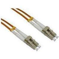 1m Cables Direct Fibre Optic Cable, OM2 LC-LC Orange