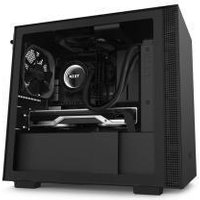 NZXT H210I Compact Mini-ITX Chassis - Tempered Glass Black