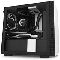 NZXT H210I Compact Mini-ITX Chassis - Tempered Glass White
