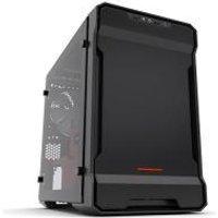 Phantek Evolv ITX Tempered Glass Black/Red edition