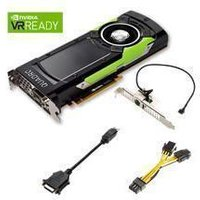 NVIDIA Quadro GP100 - Graphics card - Quadro GP100 - 16 GB HBM2 - PCIe 3.0 x16 - DVI, 4 x DisplayPort