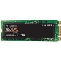 Samsung SSD 860 EVO M.2 2TB Type 2280 Internal SSD