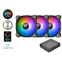 Thermaltake Pure Plus 12 LED RGB Radiator Fan TT Premium Edition (3-Fan Pack)
