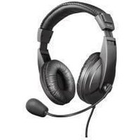 Trust Quasar Wired Over-the-head Stereo Headset - Black