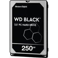 """WD Black 250GB 2.5"""" Laptop Hard Drive (HDD)"""