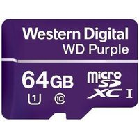 Western Digital Purple 64GB Micro SDXC Class 10 Memory Card