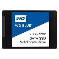 """WD Blue 2TB 2.5"""" 7mm Solid State Drive/SSD"""
