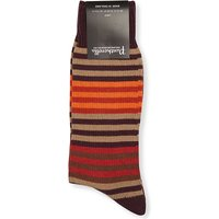 Multistripe wool socks