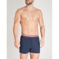 Global modern-fit stretch-cotton boxer briefs